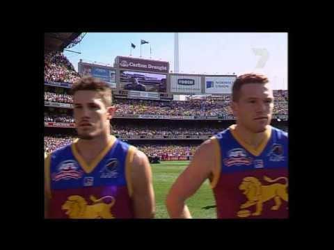 2001 AFL Grand Final 2001 AFL Grand Final National Anthem YouTube