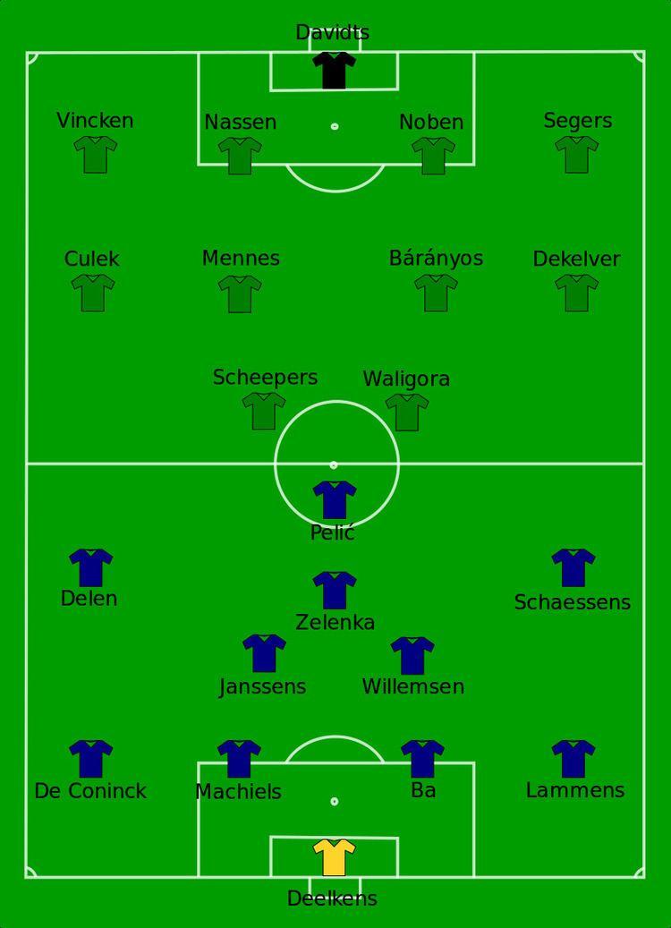 2001 Belgian Cup Final