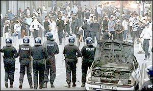 2001 Bradford riots BBC NEWS UK England Jail terms cut on Bradford rioters