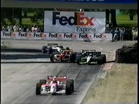 2001 CART season CART 2001 season highlights and Michigan 500 report YouTube