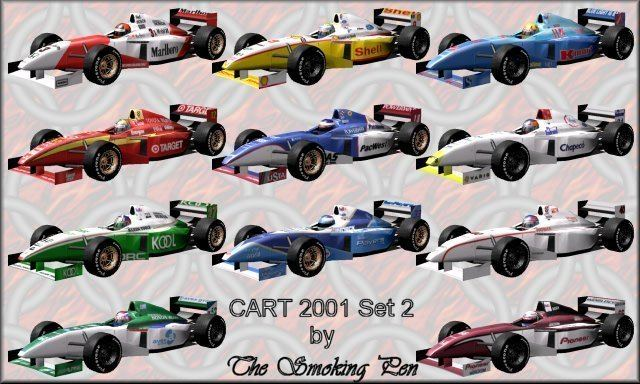 2001 CART season The Smoking Pen39s GP3 Pages 2001 CART Carsets