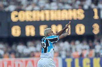 2001 Copa do Brasil Grmio udio Conquistas e gols em udio Campeo da Copa do Brasil