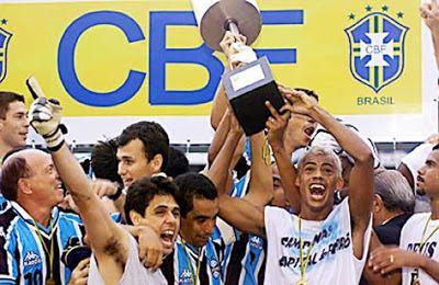 2001 Copa do Brasil Copa do Brasil 2001 Grmio Campeo da Copa do Brasil 2001