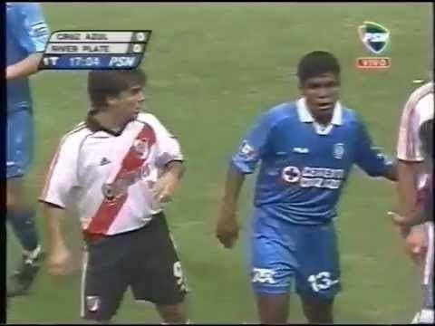 2001 Copa Libertadores Reportaje color y resumen Cruz Azul 3 River Plate 0 Libertadores