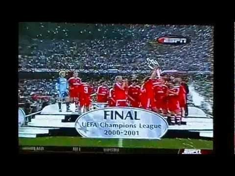 2001 UEFA Champions League Final Bayern Munich vs valenciafinal Champions League 2001flv YouTube