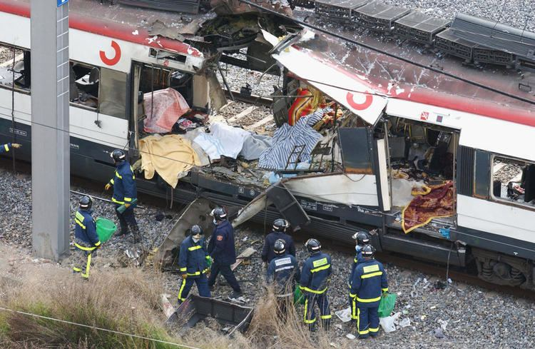 2004 Madrid train bombings March 11 2004 Muslims bomb Madrid train killing 191 and injuring