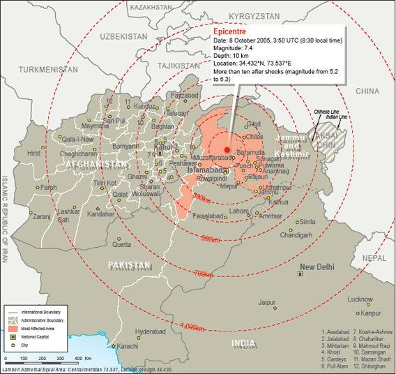 2005 Kashmir earthquake earthquake in pakistan kashmir 2005