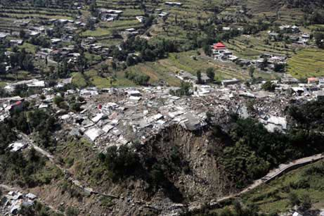 2005 Kashmir earthquake Photo Gallery Earthquake Devastation in Kashmir
