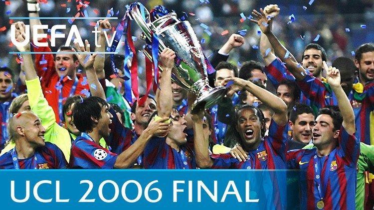 2006 UEFA Champions League Final Barcelona v Arsenal 2006 UEFA Champions League final highlights