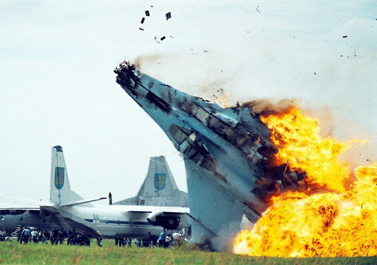 Blue Angels Crash