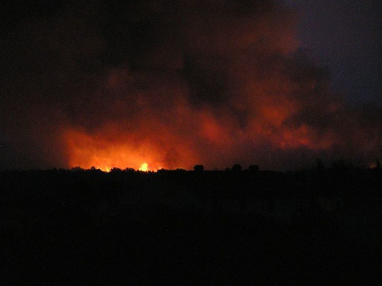 2007 Croatian coast fires