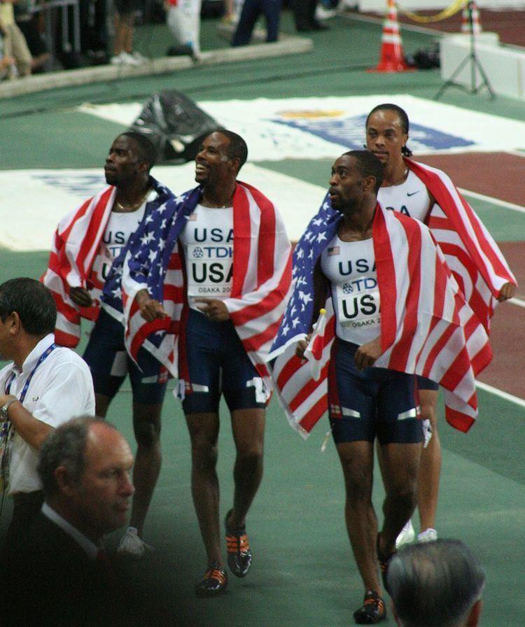 2007 World Championships in Athletics – Men's 4 × 100 metres relay