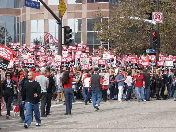 2007–08 Writers Guild of America strike