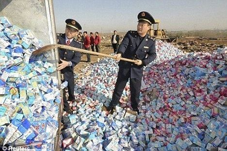 2008 Chinese milk scandal China executes two managers for poisoned milk scandal that killed