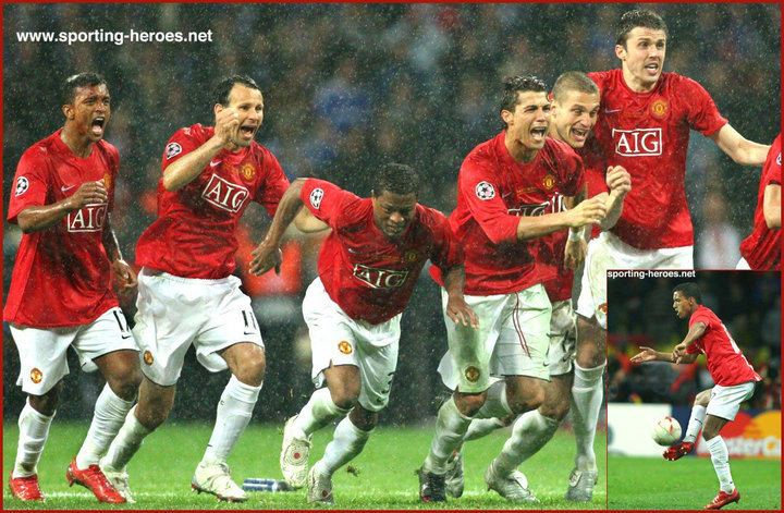 2008 UEFA Champions League Final Nani UEFA Champions League Final 2008 Manchester United FC