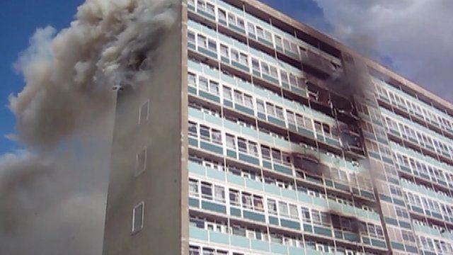 2009 Lakanal House tower block fire Lakanal House fire A tragedy waiting to happen BBC News