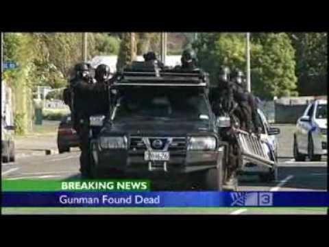 2009 Napier shootings Napier siege over as police confirm gunman dead YouTube