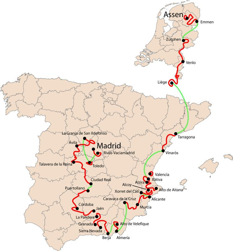 2009 Vuelta a España, Stage 12 to Stage 21