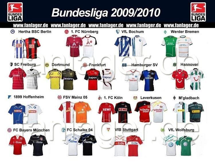 Бундеслига 2009- 10 таблица