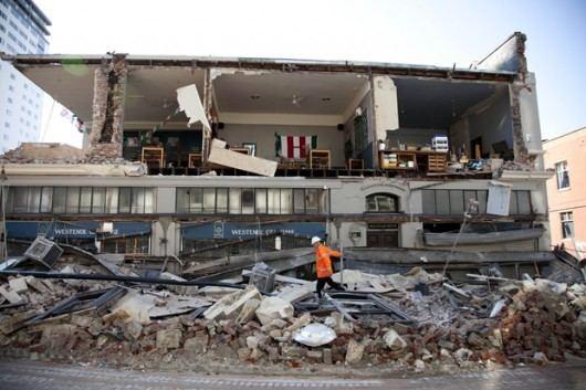 2010 Canterbury earthquake The Canterbury Earthquake A Bouquet and Oh Dear a Brickbat