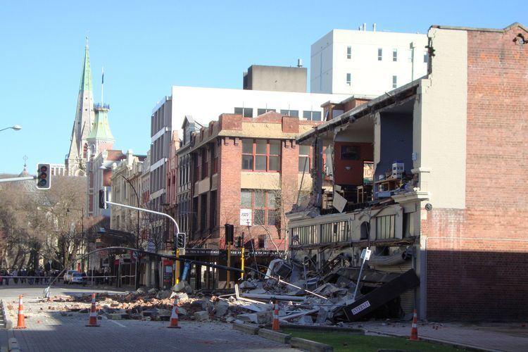2010 Canterbury earthquake FileWorcester corner Manchesterjpg Wikimedia Commons