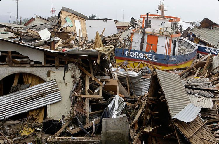 2010 Chile earthquake Activation Chile Earthquake 2010 GMES GMOSAIC