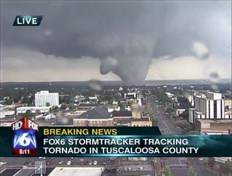 2011 Tuscaloosa–Birmingham tornado Tuscaloosa tornado 2011 This monster headed to downtown Birmingham