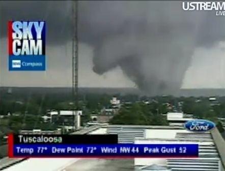 2011 Tuscaloosa–Birmingham tornado Tornado Emergency in Tuscaloosa Alabama 4272011 UPDATED 59