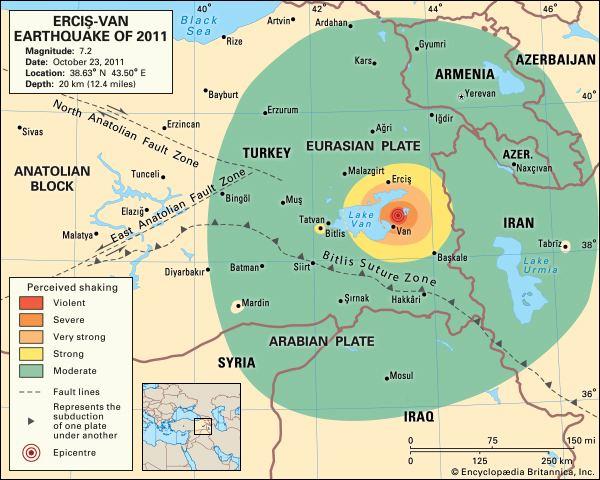 6c537ca114 2011 Van earthquake ErcisVan earthquake of 2011 Turkey Britannicacom