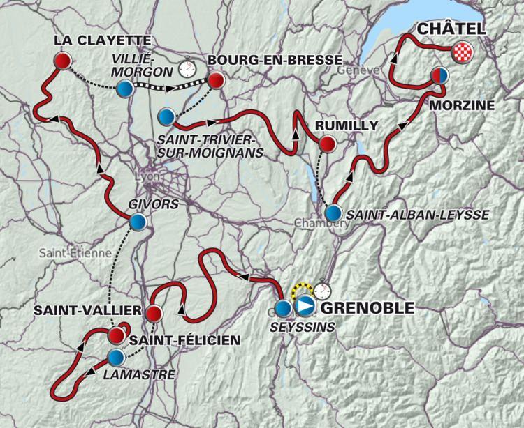 2012 Critérium du Dauphiné