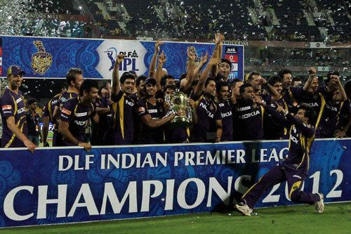 2012 Indian Premier League Kolkata Knight Riders KKR Indian Premier League 2012 IPL 5 Team