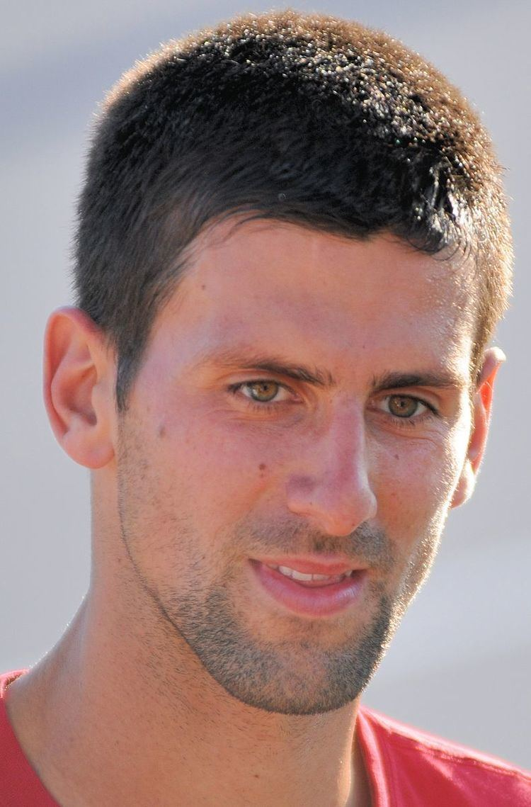 2012 Novak Djokovic tennis season