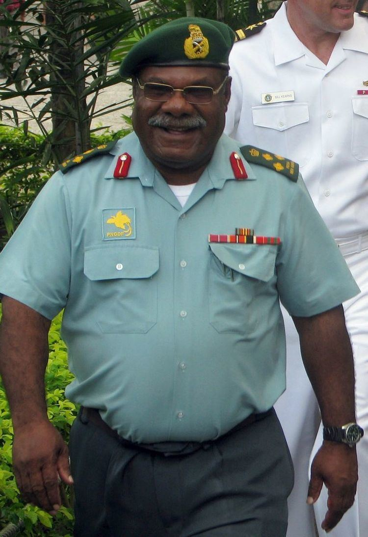 2012 Papua New Guinea Defence Force mutiny