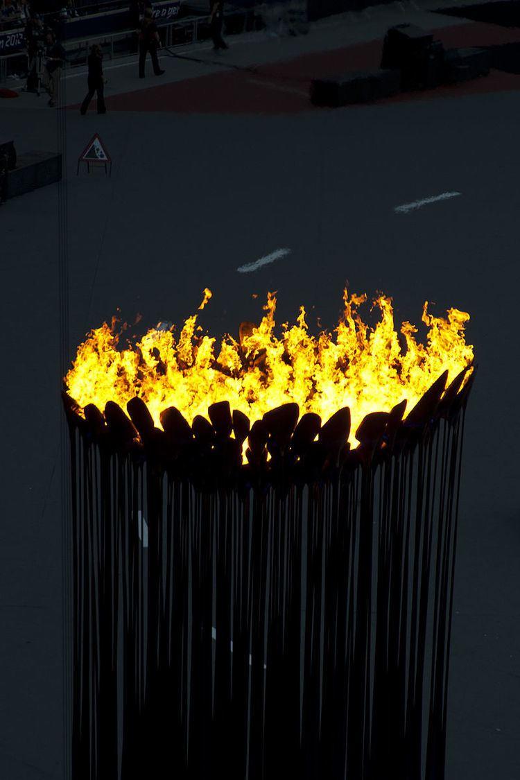 2012 Summer Olympics and Paralympics cauldron