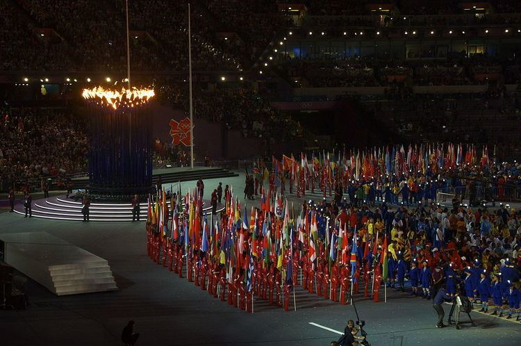 2012 Summer Olympics closing ceremony flag bearers