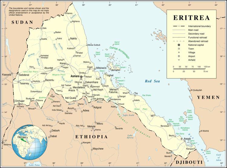 2013 Eritrean Army mutiny