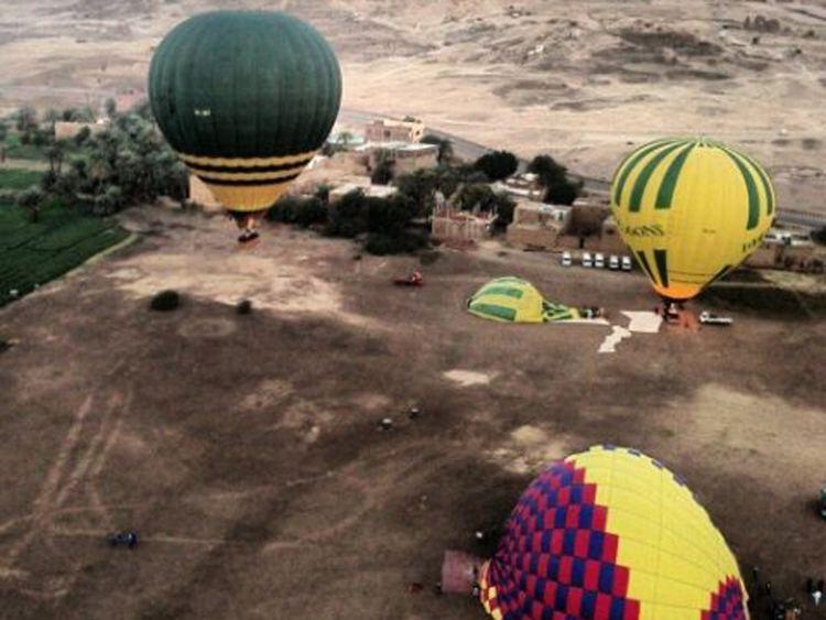 2013 Luxor hot air balloon crash Luxor hot air balloon crash How tourism has changed in Egypt The