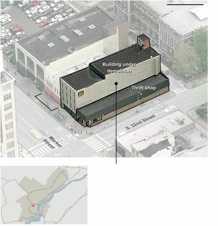 2013 Philadelphia building collapse Scene of the Philadelphia Building Collapse Graphic NYTimescom