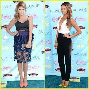2013 Teen Choice Awards Ashley Benson amp Shay Mitchell Teen Choice Awards 2013 2013 Teen