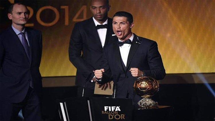 2015 FIFA Ballon d'Or Cristiano Ronaldo Wins Ballon d39Or 2014 Cristiano Ronaldo winner