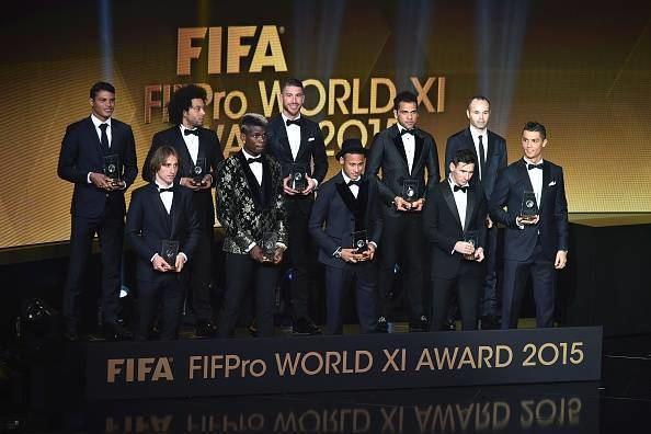 2015 FIFA Ballon d'Or Stats Records tumble at the 2015 FIFA Ballon d39Or Gala