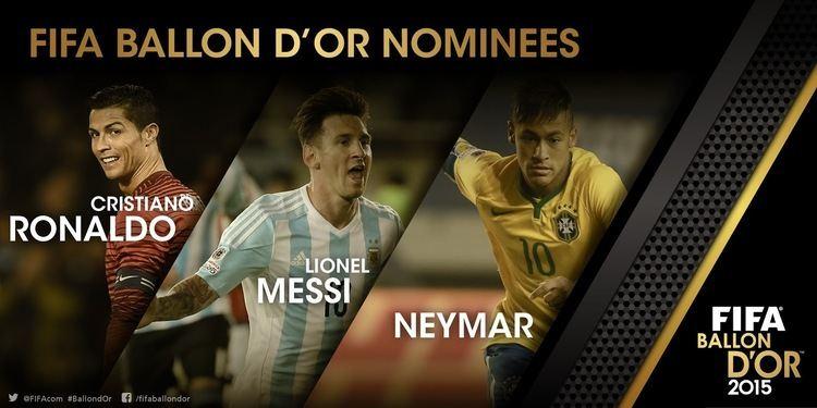 2015 FIFA Ballon d'Or FIFA Ballon d39Or 2015 Award Football Boots Battle Footy Headlines