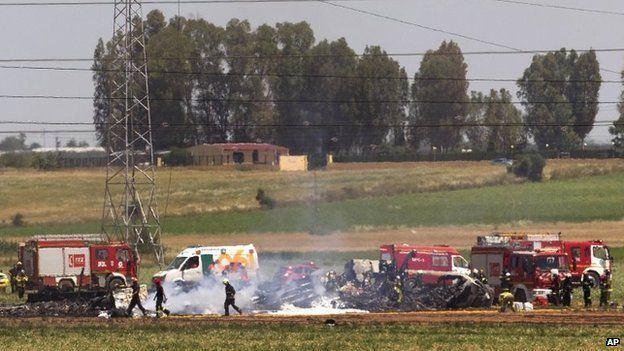 2015 Seville Airbus A400M Atlas crash ichef1bbcicouknews624mediaimages83539000