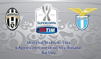 2015 Supercoppa Italiana Supercoppa Italiana 2015 data dove giorno orario quando