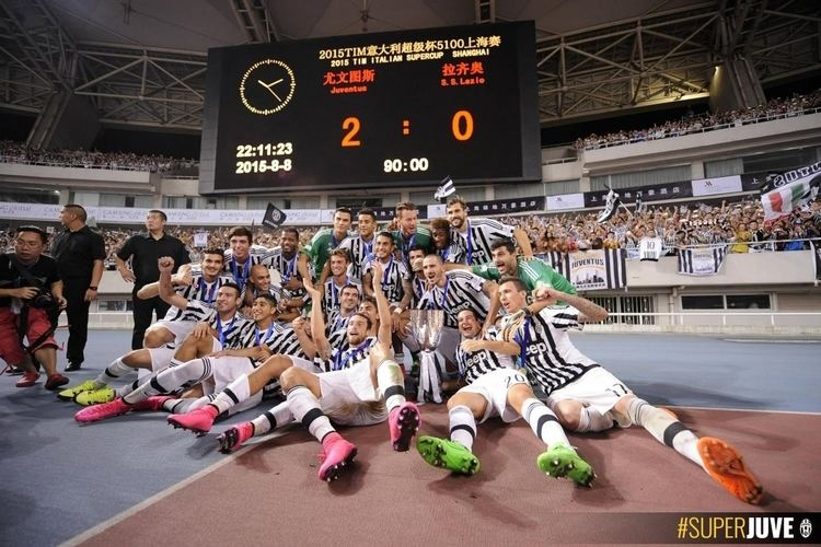 2015 Supercoppa Italiana SUPERCOPPA ITALIANA 2015 Juventuscom