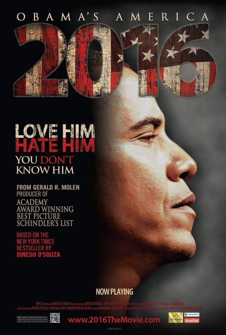 2016: Obamas America movie poster
