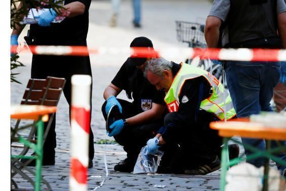 2016 Ansbach bombing Ansbach explosion German music festival bomber pledged allegiance