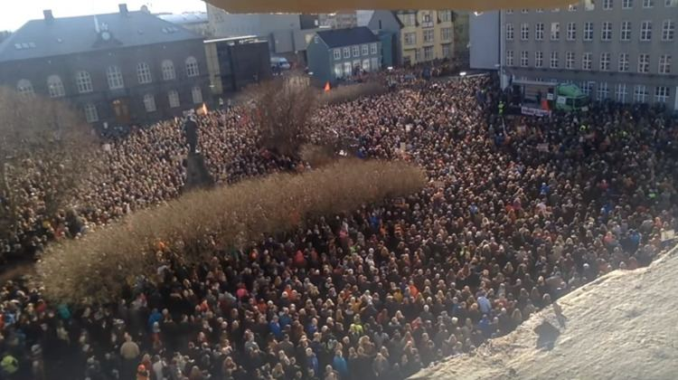 2016 Icelandic anti-government protests