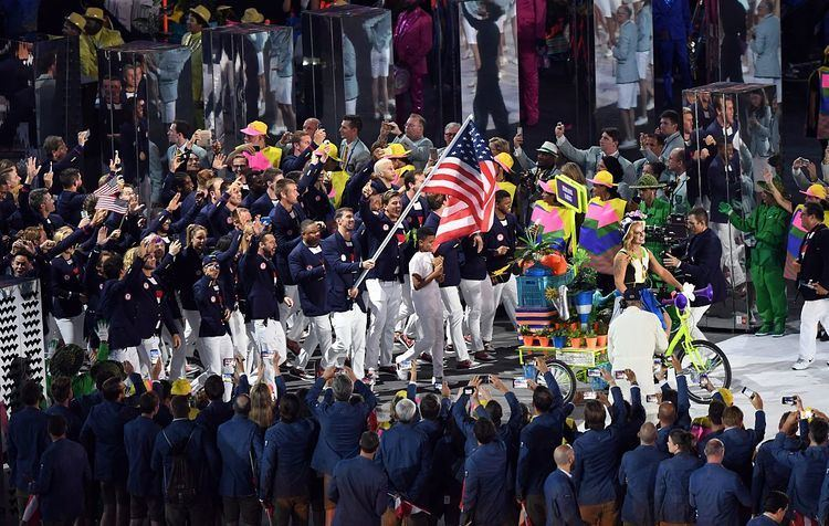 2016 Summer Olympics Parade of Nations