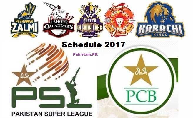 2017 Pakistan Super League blogpakistanipkwpcontentuploads201611Pakis